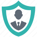 business, secure, security, shield, spyware icon