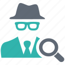 blackhat, hacker, insurance, protection, secure icon