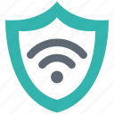 lock, password, secure, security, wifi, wireless icon