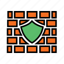 antivirus, firewall, guard, network security, privacy, shield, web protection icon