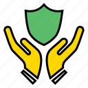 anti virus, protected, protection, safe, secured.security, shield icon