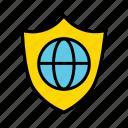 global security, need password, secured website, web protection, web security, website protection icon