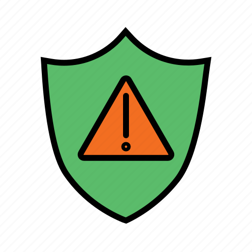 notification, protection, security alert, security error, security warning, sheild icon