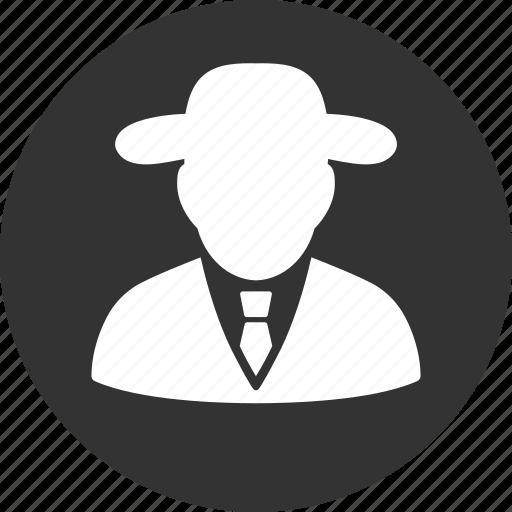 boss, cia spy, detective, fbi agent, hacker, secret service, thief icon