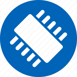 chip, cpu, electronic device, electronics, hardware, microchip, processor icon