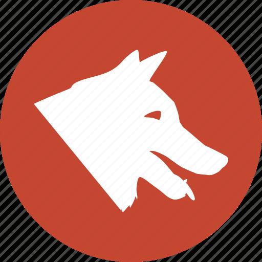 animal, canine, doggy, evil dog, hunting, pedigree, pet icon