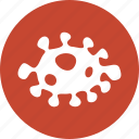 bacteria, biohazard, biological, danger, infection, trojan, virus icon