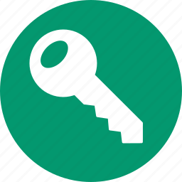 access key, password, registration, registry, secure, security, unlock icon