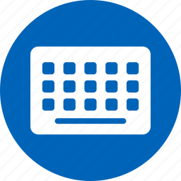 device, hardware, input, keyboard, keypad, keys, typing icon