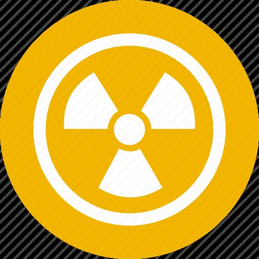 atomic, danger, energy, nuclear, power, radiation, radioactive icon
