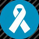achievement, alliance, award, hiv ribbon, solidarity, support, tie icon