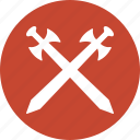 cold arms, cross swords, defense, guard, heraldic, protect, protection icon