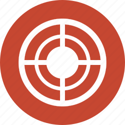 aim, bullseye, center, goal, point, target, targeting icon