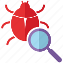 bug, fixing, security icon