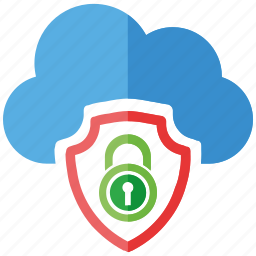 cloud, security icon
