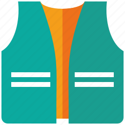 life, security, vest icon