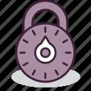 lock, locked, padlock, password, protection, safety, security icon