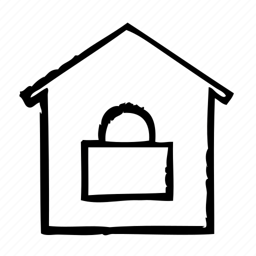 home, security, securityprotection icon