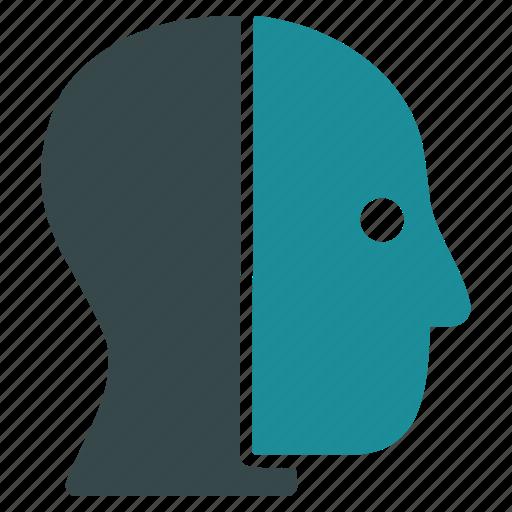 account, avatar, customer, head, human, person, profile icon