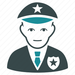 cop, patrol, police officer, policeman, protection, security, sheriff icon