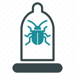 antivirus, condom, preservative, preserve, protection, rubber, security icon