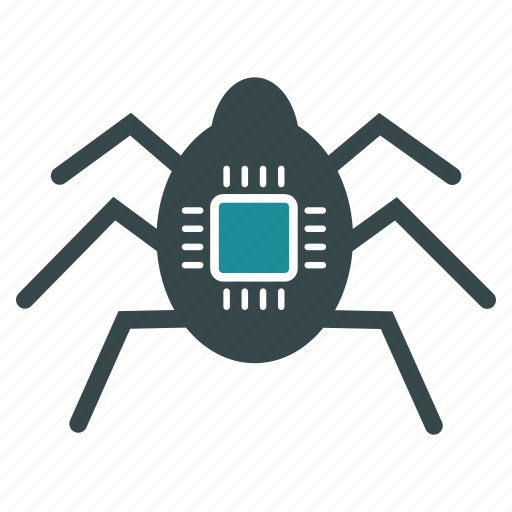 crime, hacker, insect, secret agent, security, spy bug, technology icon