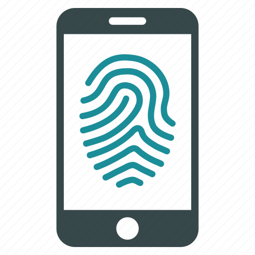 biometric, biometry, fingerprint, identification, identity, protection, trace icon