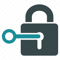 access, key, lock, login, password, security, unlock icon