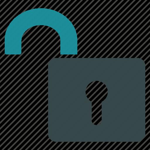 open lock, password, safety, secret, secure, security, unlock icon