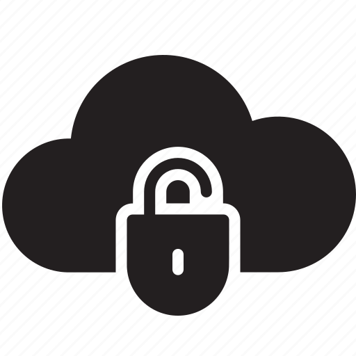 cloud, internet, privacy, protection, security icon