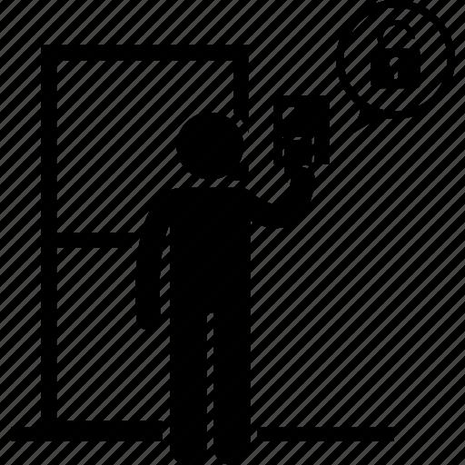 Image result for clip art security door