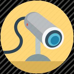 cc camera, cctv, security camera, security video camera, surveillance, video camera icon