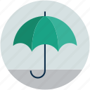 parasol, protection, safety concept, shade, sunshade, umbrella icon
