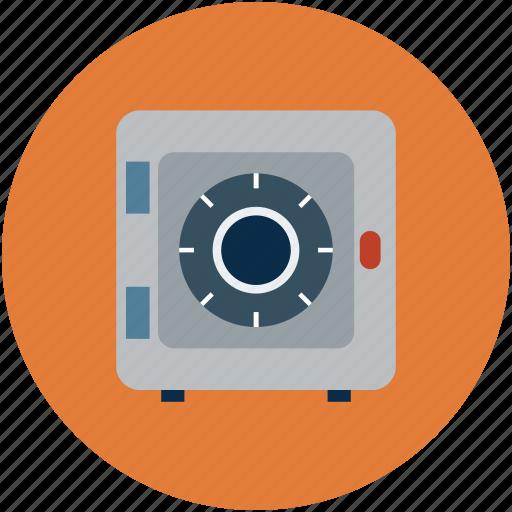 bank locker, locker, money box, safe, safe box icon