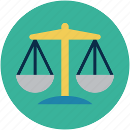 judiciary sign, law scale, law symbol, scale, weight scale icon
