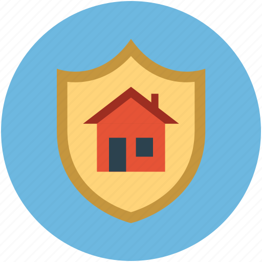 home protection, home safety, home safety concept, home security, home shield icon