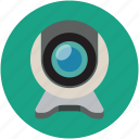 cam, camera, web camera, web video camera, webcam icon
