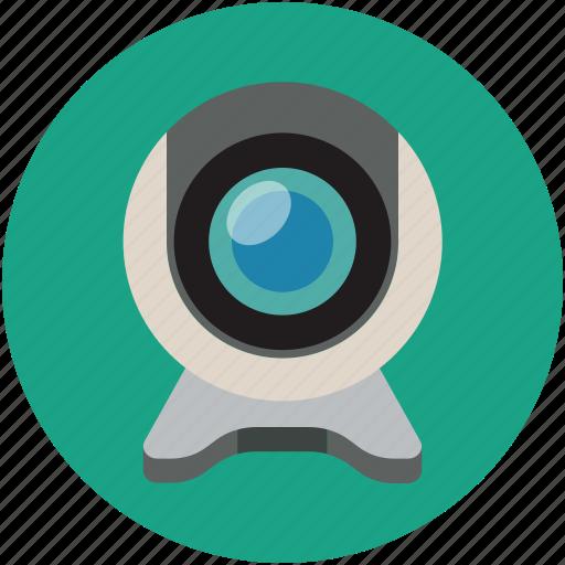 cam, camera, web camera, web video camera, webcam icon