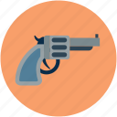 gun, hand gun, pistol, safety weapon, security weapon, weapon icon