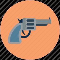 gun, hand gun, pistol, safety weapon, security weapon, weapon icon