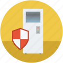 atm shield, defensive shield, safe transaction, safety concept, secure payment, secure payment concept icon