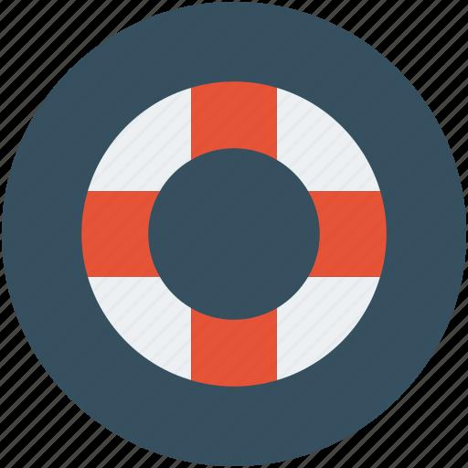 life belt, life line, lifebuoy, lifesaver, safeguard icon