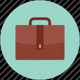 briefcase, business bag, business case, office bag, portfolio icon