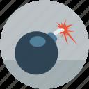 blast, bomb, bombshell, explosive, grenade, mine, shell icon