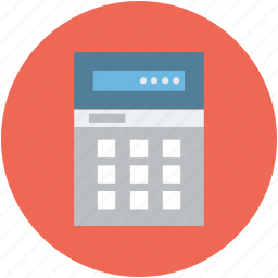 adding machine, calculating, calculator, finance icon