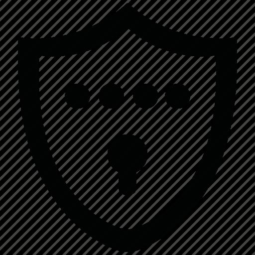encryption, firewall, guard, security, shield icon