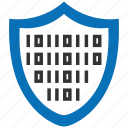 data, encryption, firewall, guard, secure, shield icon