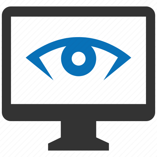 encryption, firewall, guard, retina, screen, shield icon