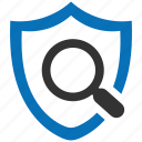 encryption, firewall, guard, scan, security, shield icon