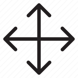 all, arrow, computer, direction, select icon